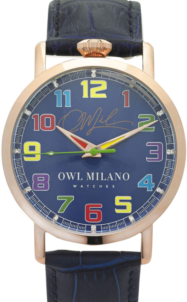 Orologio Owl Milano Leather Donna OM-R-BL-3M zoom