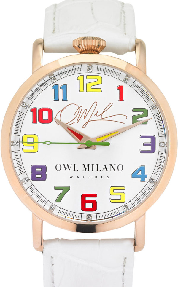 Orologio Owl Milano Leather Donna OM-R-W-1M zoom