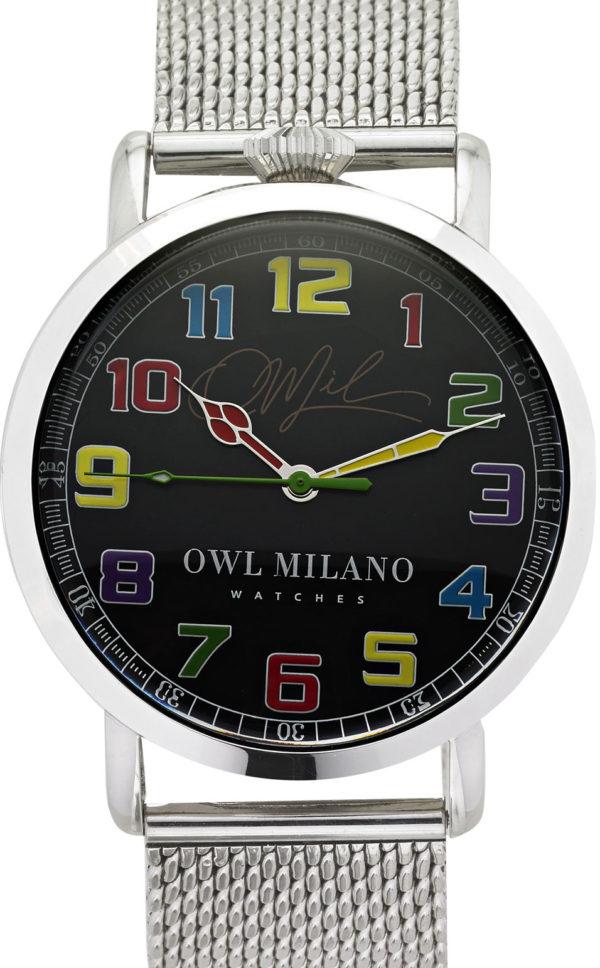 Orologio Owl Milano Metal Uomo OM-S-BK-4M zoom