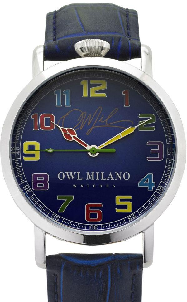 Orologio Owl Milano Leather Uomo OM-S-BL-3M zoom